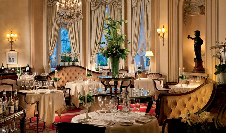 Dining in the gorgeous Goya Restaurant