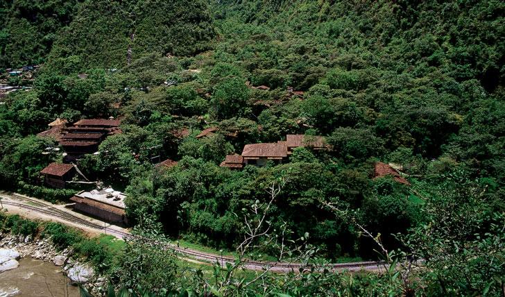 Luxury hotel Inkaterra, Machu Picchu, Peru