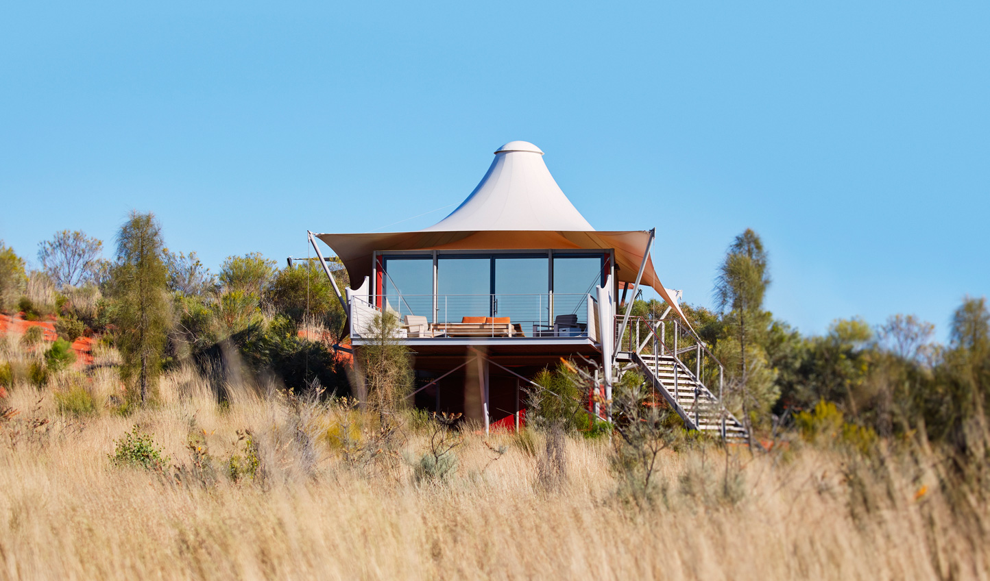 Your home in the outback at Longitude 131