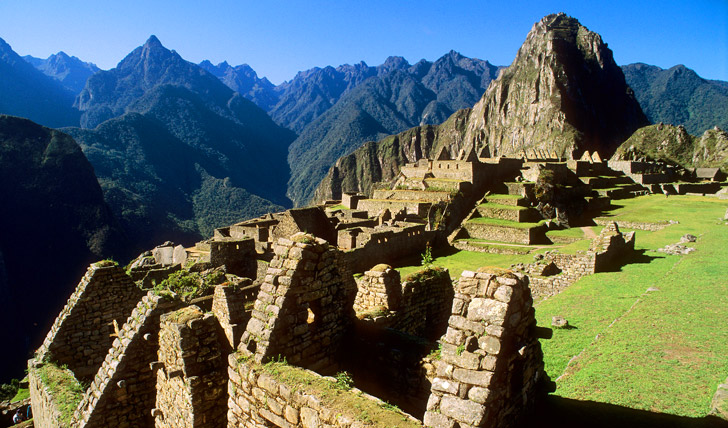 The breath-taking views from Machu Picchu