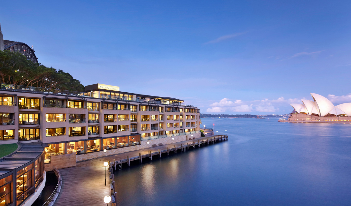 Stay at the Park Hyatt for an unbeatable location in the heart of Sydney