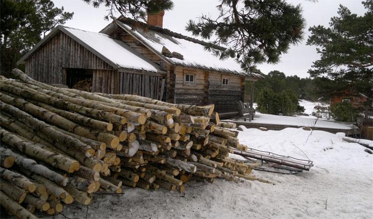 Your Scandi log cabin