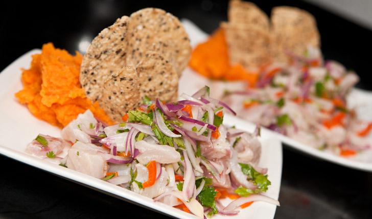 Sample Lima's street food