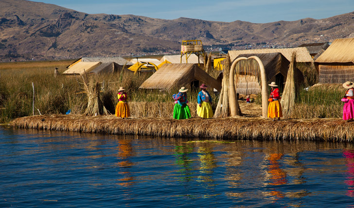 Discover the Uros Floating Islands