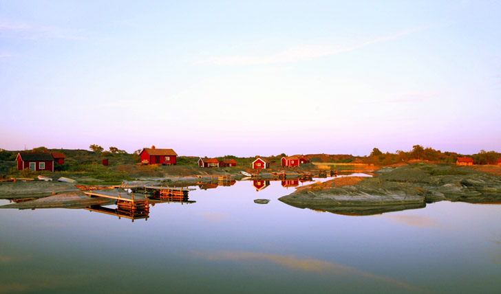 The picturesque views of the archipelago