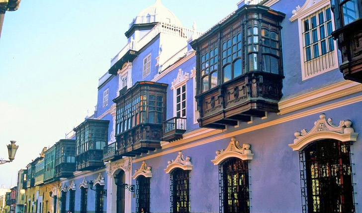 See the elaborate Lima architecture