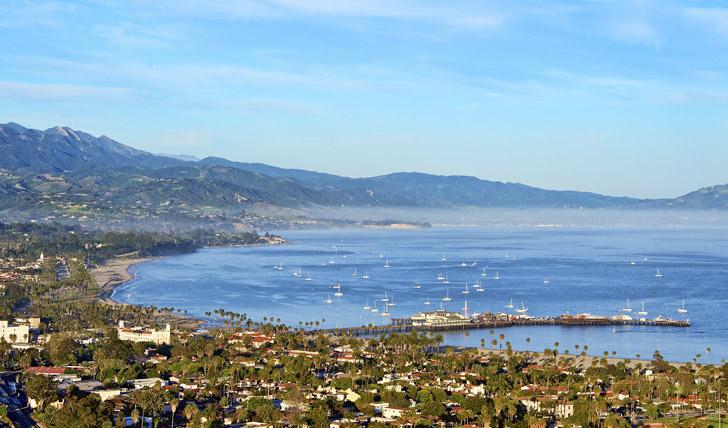 View over Santa Babara