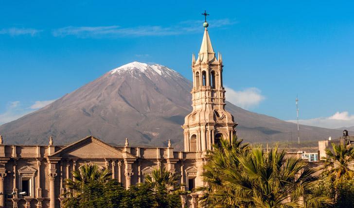 Gaze at majestic 'El Misti' volcano