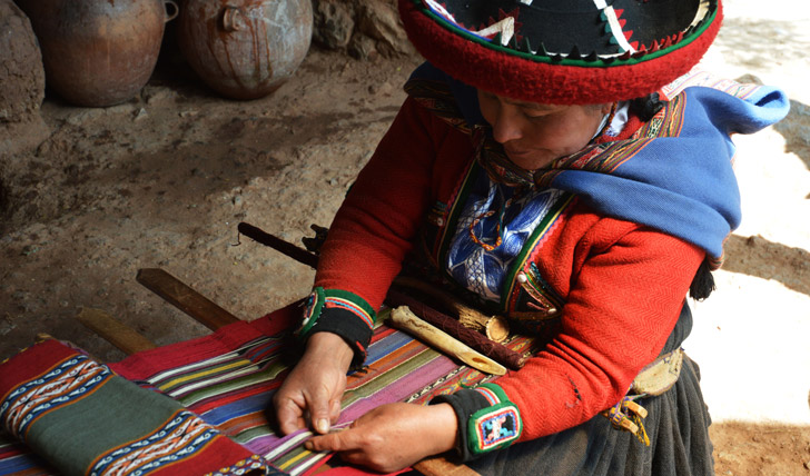 Try your hand at traditional weaving