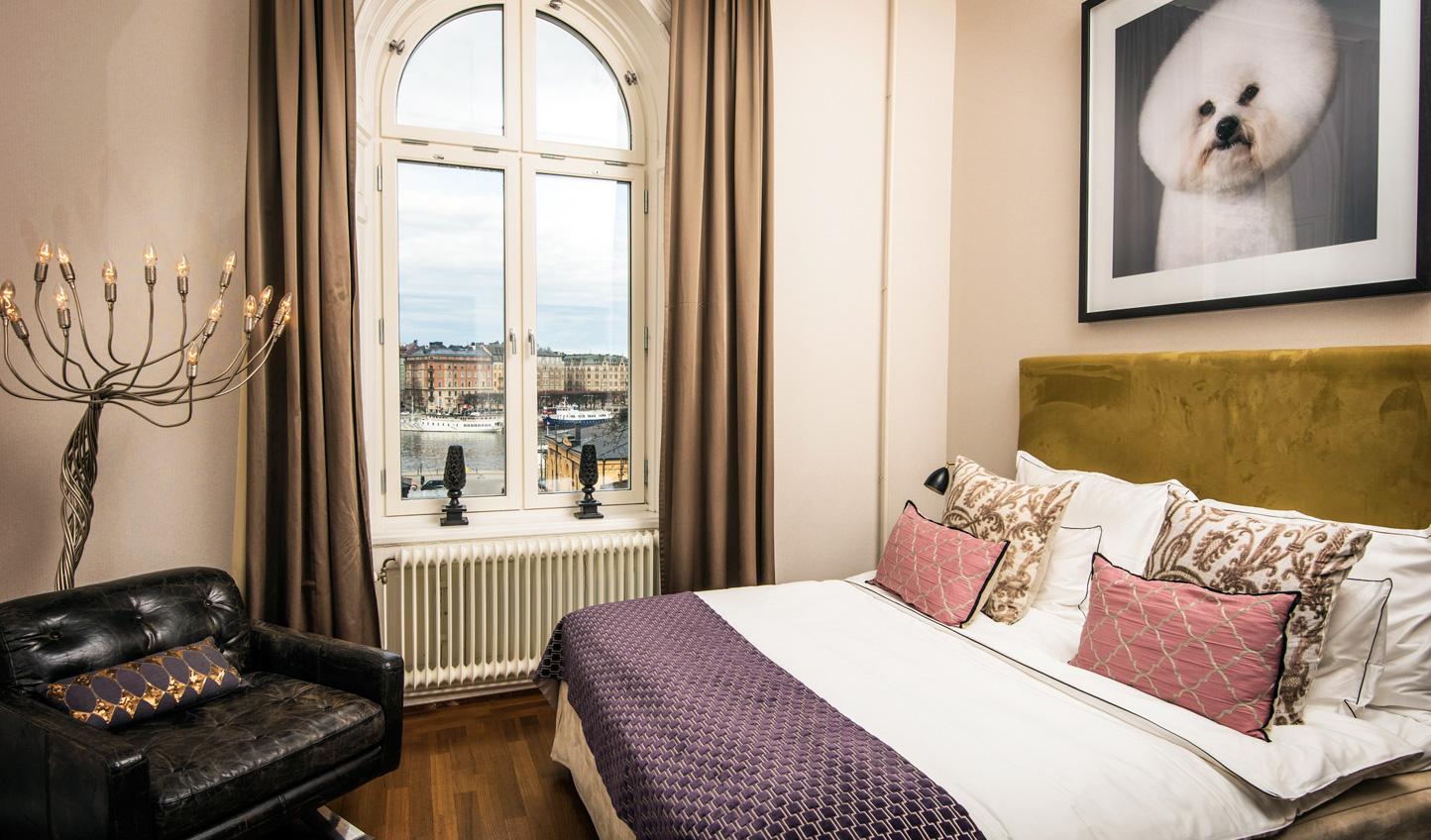 Quirky-chic guestrooms at the Lydmar