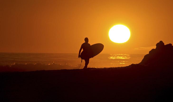 Surf in California