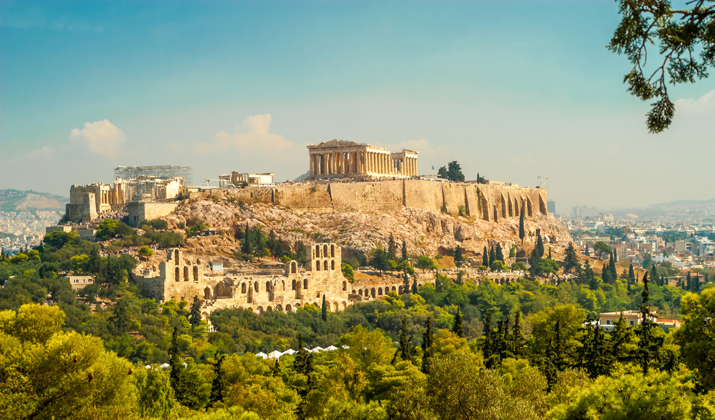 Stop off in ancient Athens