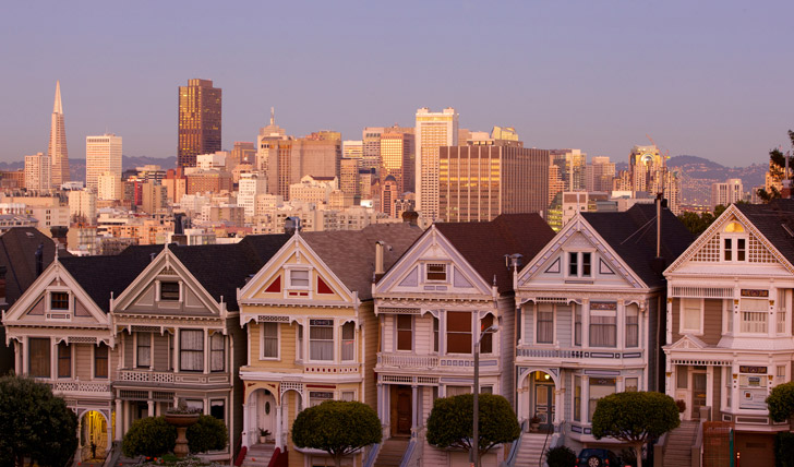 Alamo Square, San Francisco | Trips to California