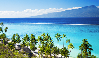 Tahiti in French Polynesia