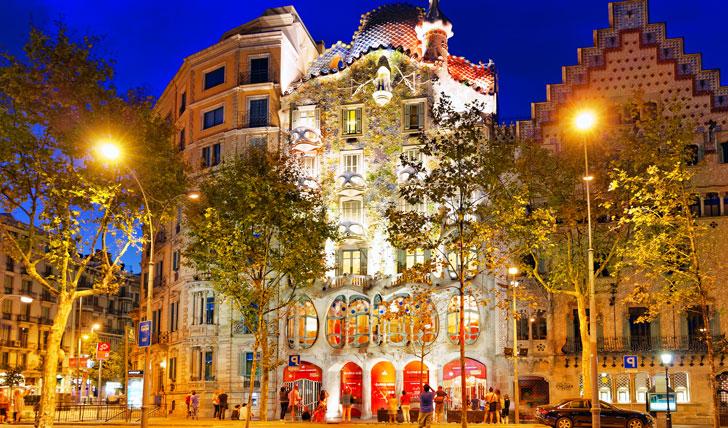 Visit Gaudí's quirky Casa Batlló
