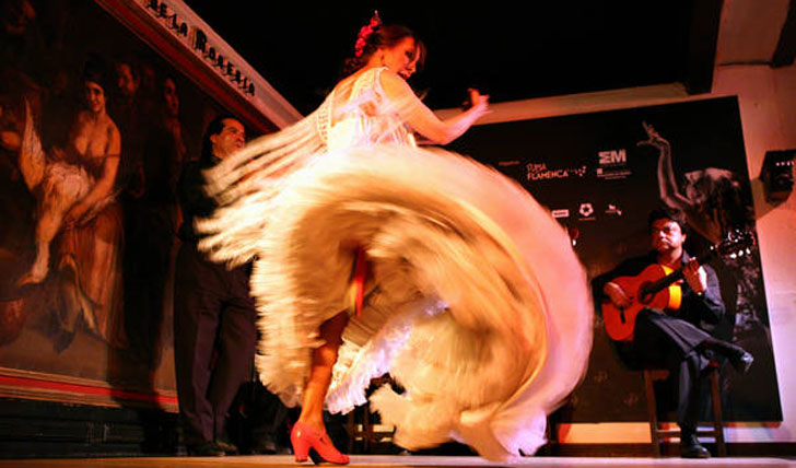 Slip on your dancing shoes at a flamenco class