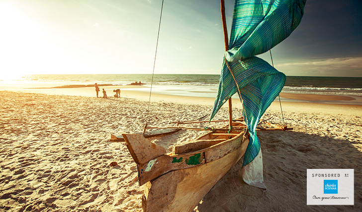 Dhow boat on the beach in Mozambique | Inspired by Experience