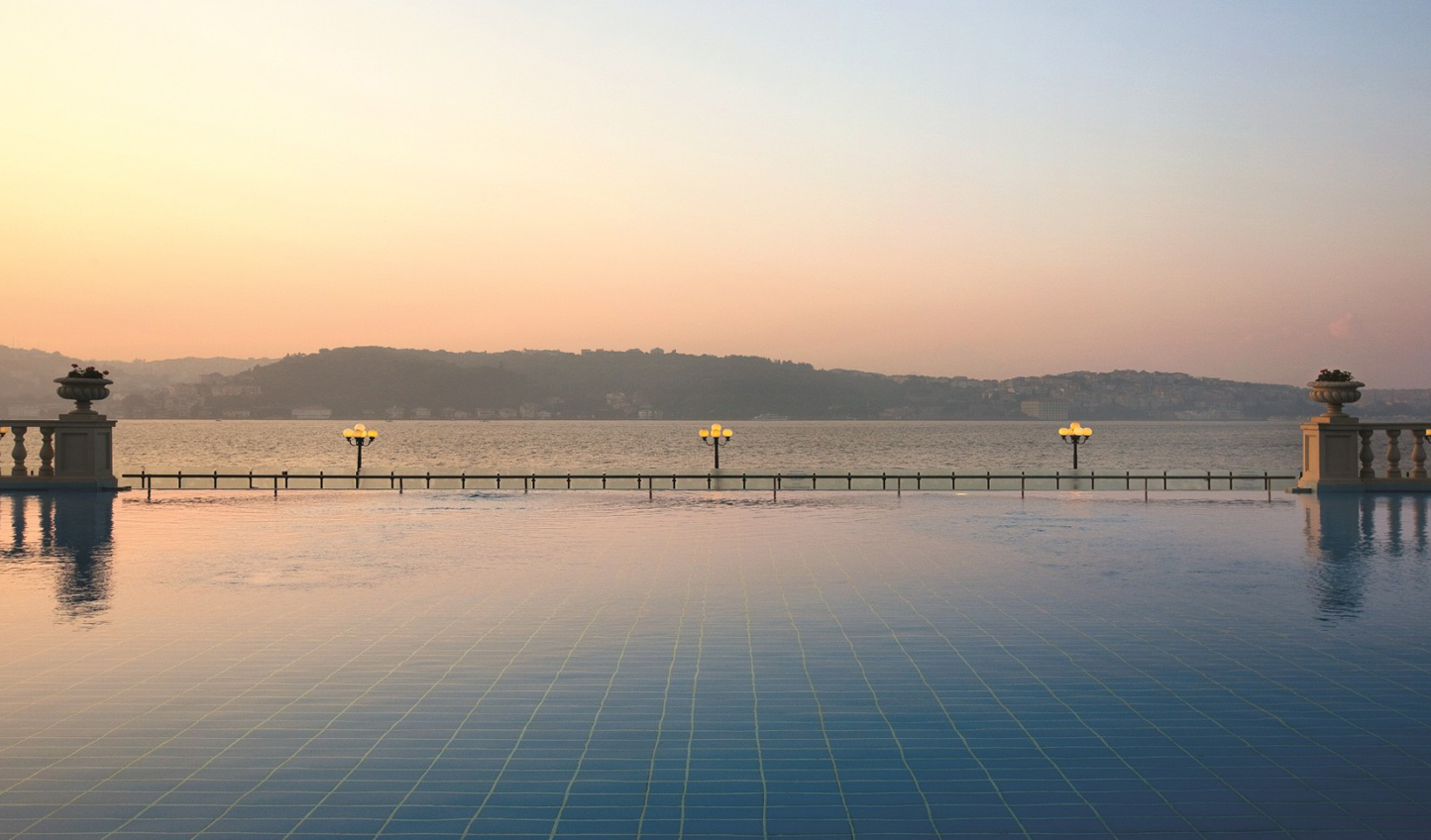 Where the pool meets the Bosphorus