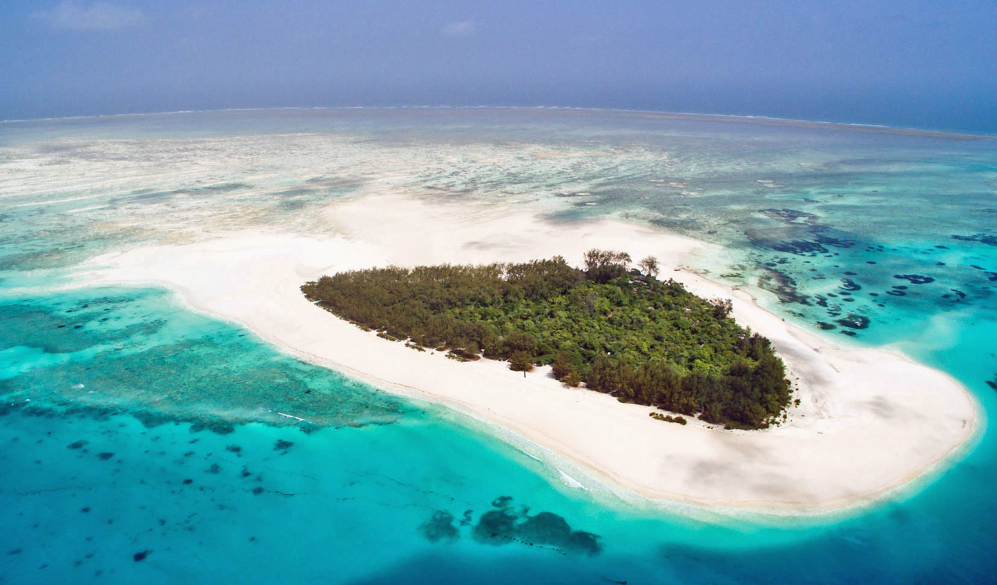 Touch down in paradise on Mnemba Island