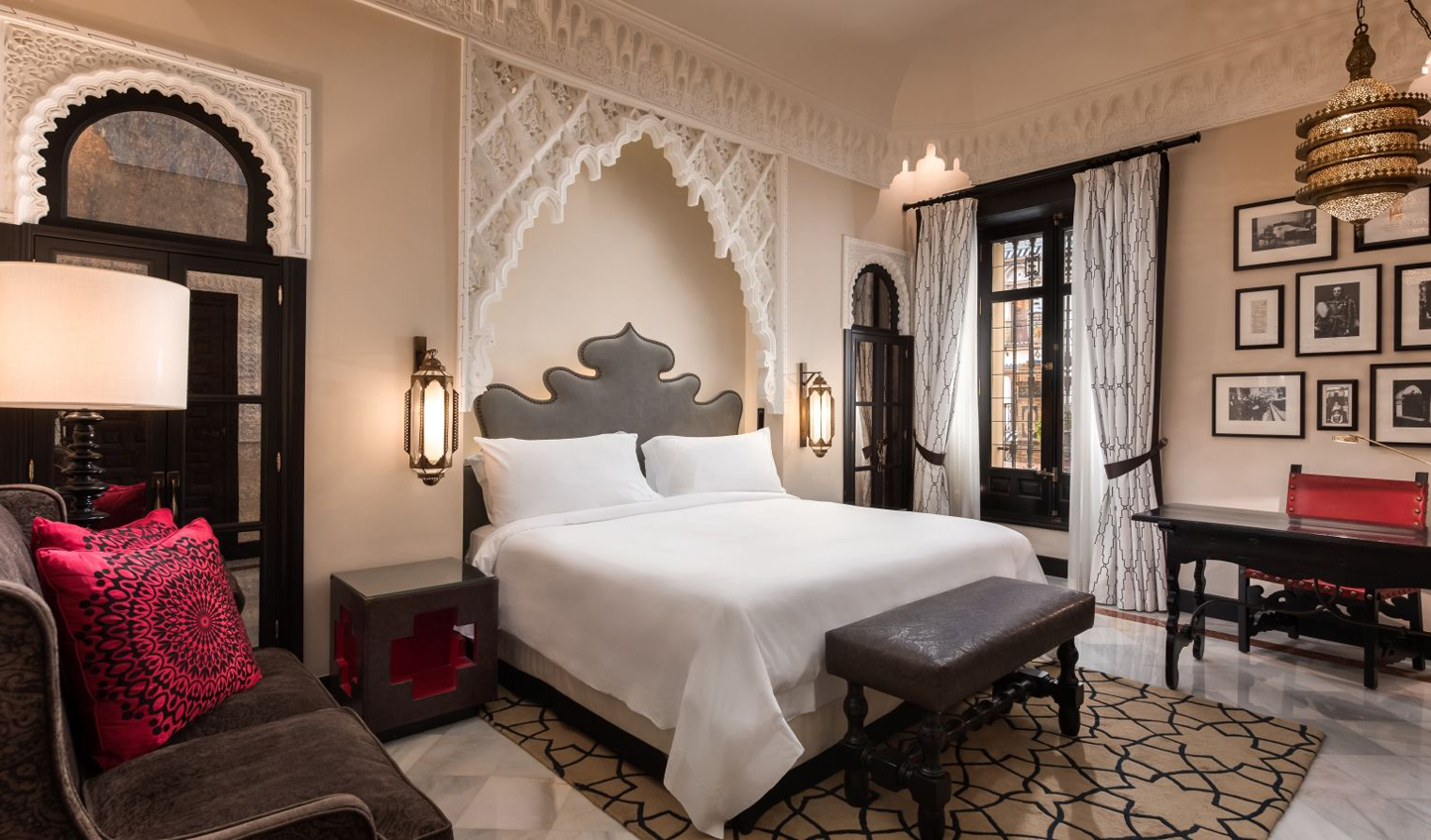Beautiful rooms with touches of Moorish design