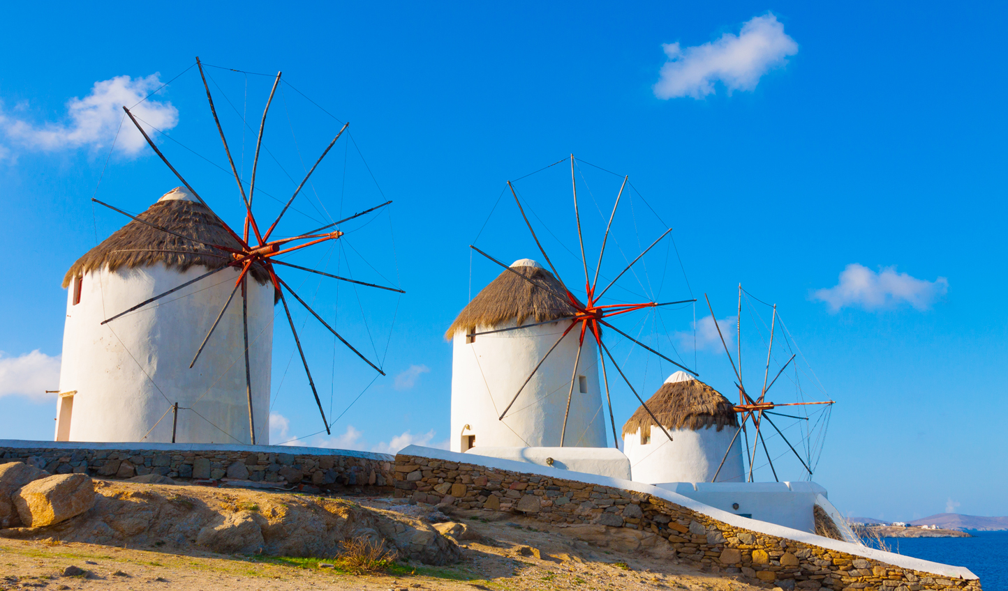 See the 16th-century windmills
