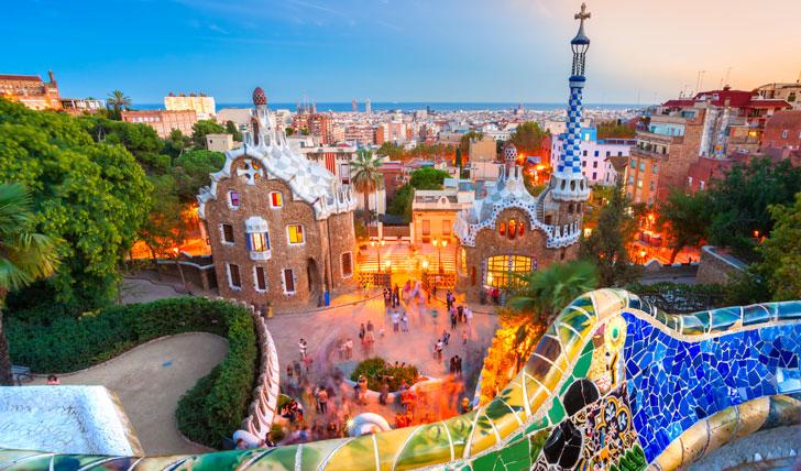 Antoni Gaudí's Park Güell, Barcelona, Spain