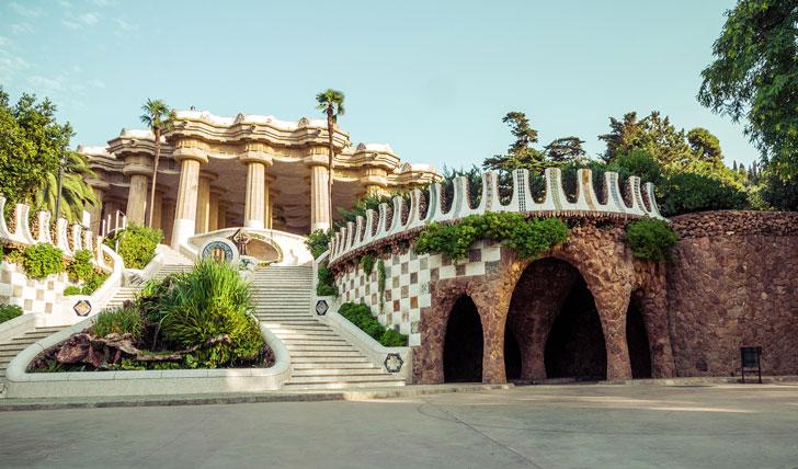 Inside Gaudí's dreamlike Park Güell