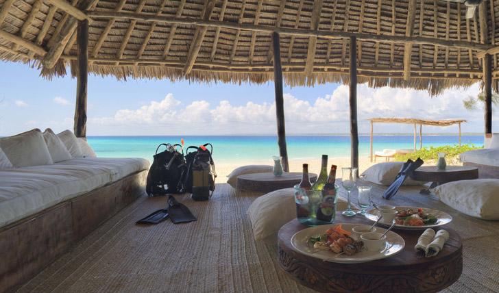 Mnemba island resort Zanzibar