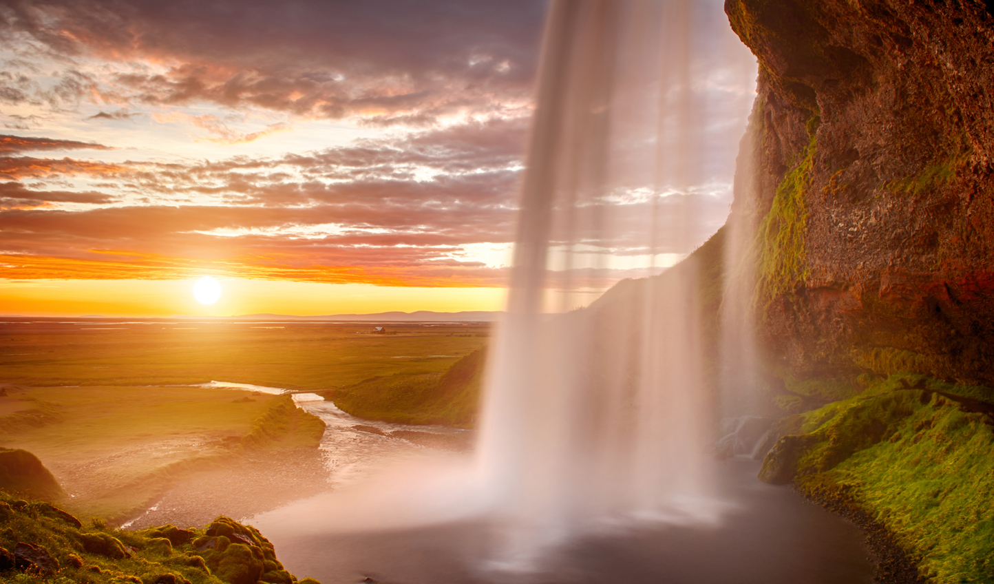 Get behind the scenes of Seljalandsfoss