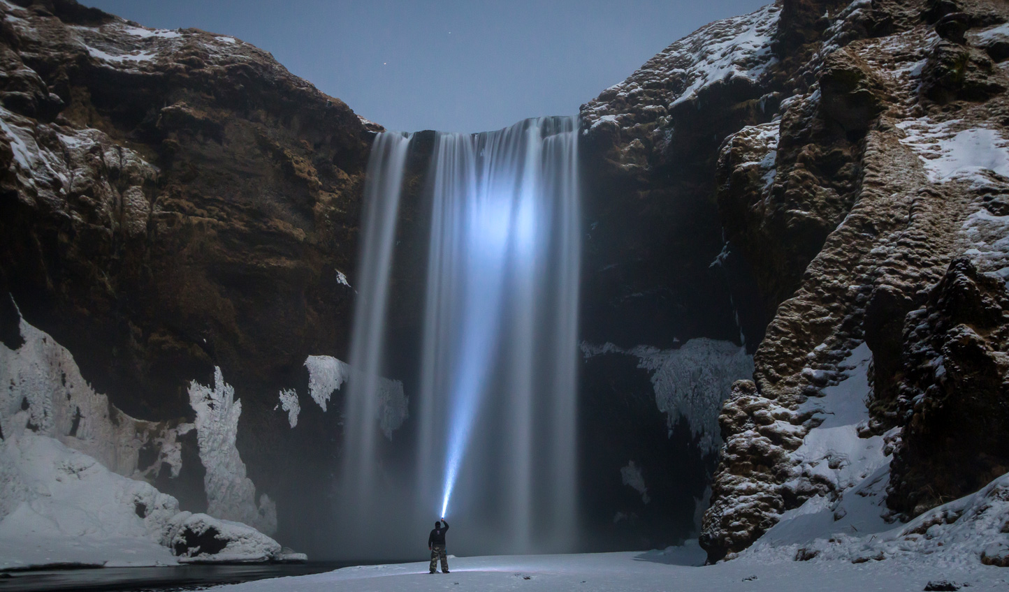 Witness the might of Skogafoss come summer or winter