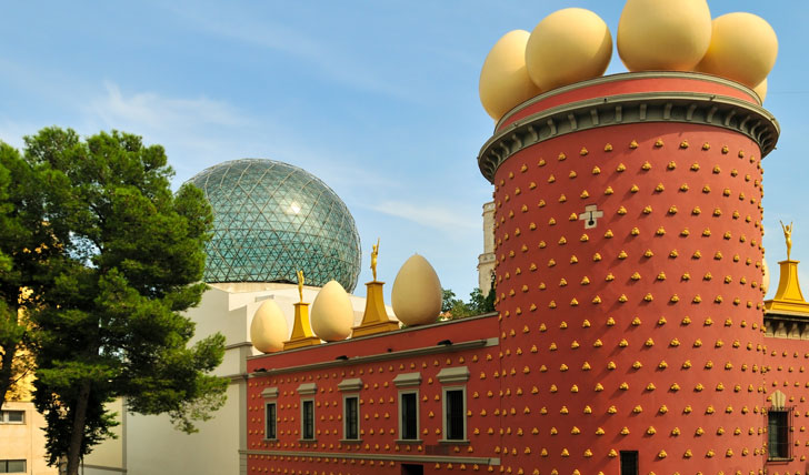 Cruise down to Dalí's Theatre-Museum in Figueres