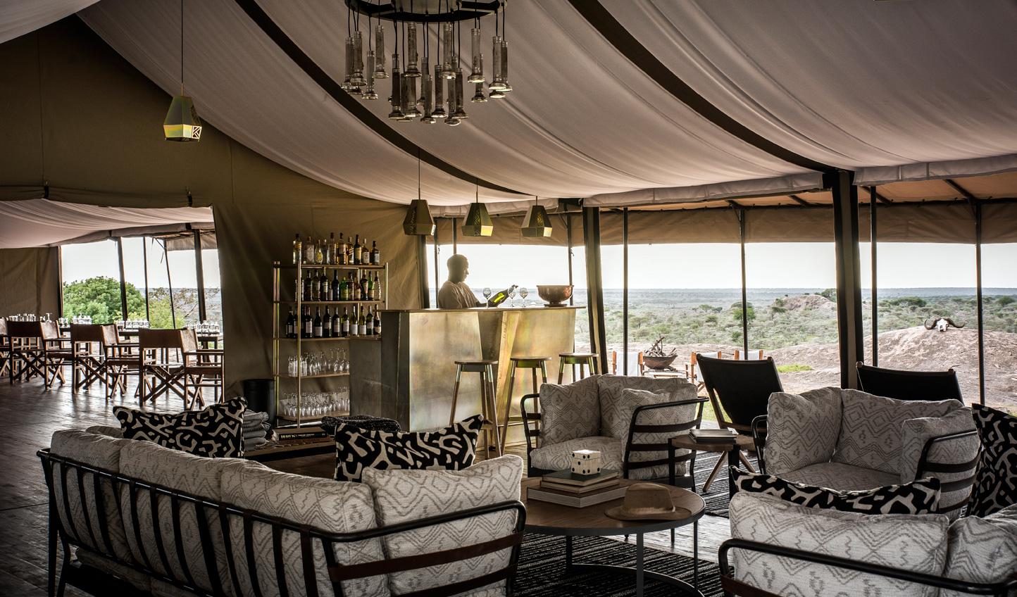 Follow the migration in style from Sanctuary Kichakani Serengeti Camp