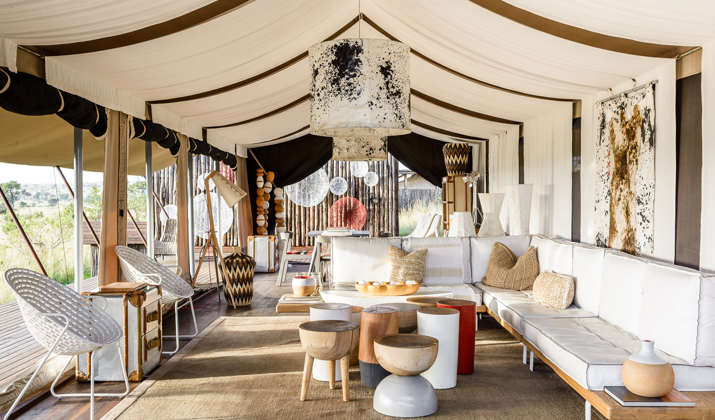 Relax in utmost luxury after a day out in the bush