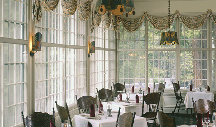 The dining room at Wawona