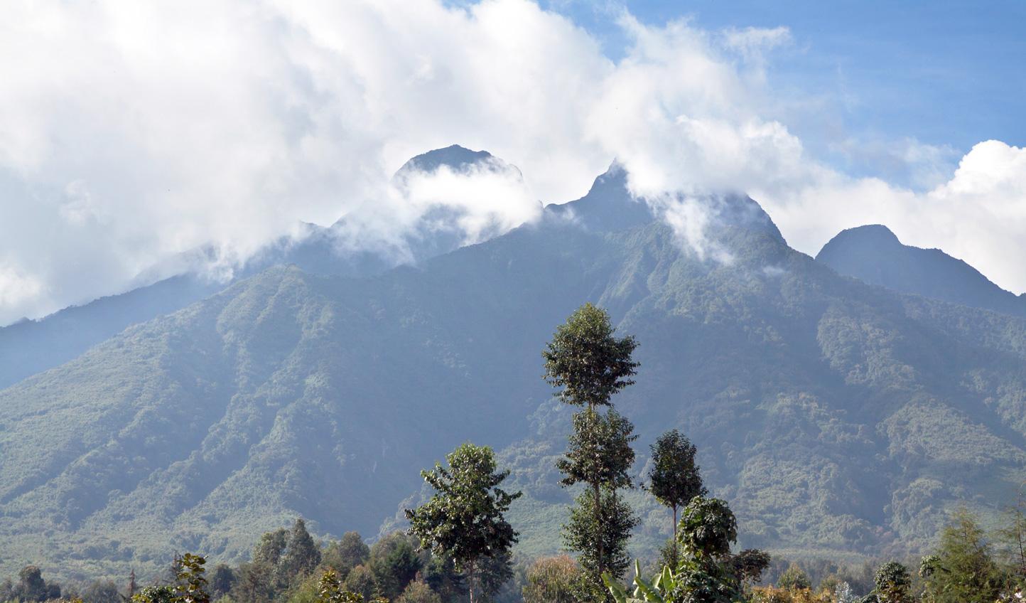 Climb Visoke volcano