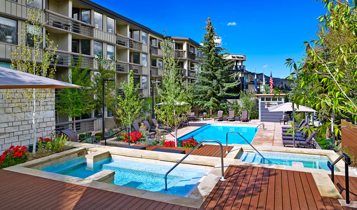 The pools at Westin Snowmass, USA