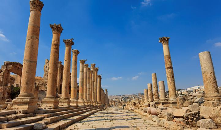 Historic sites in Jordan