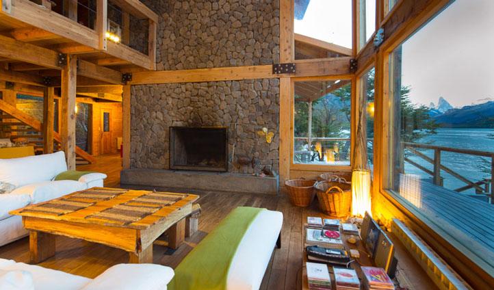 Aguas Arriba Lodge Lounge
