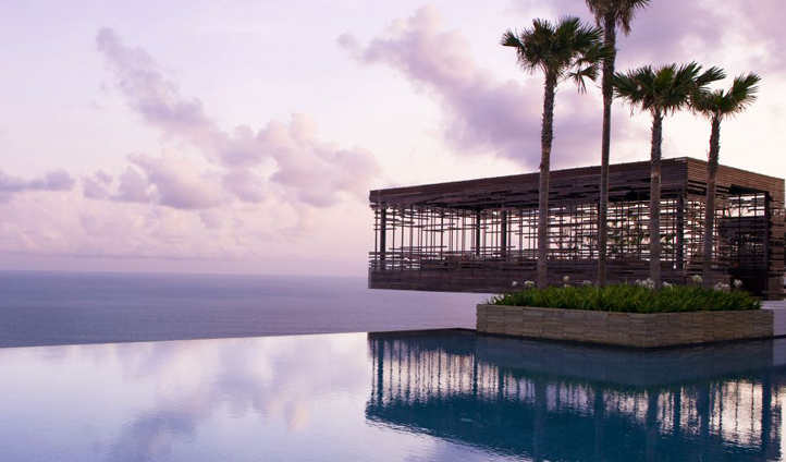 The unmistakable architecture of Alila Uluwatu