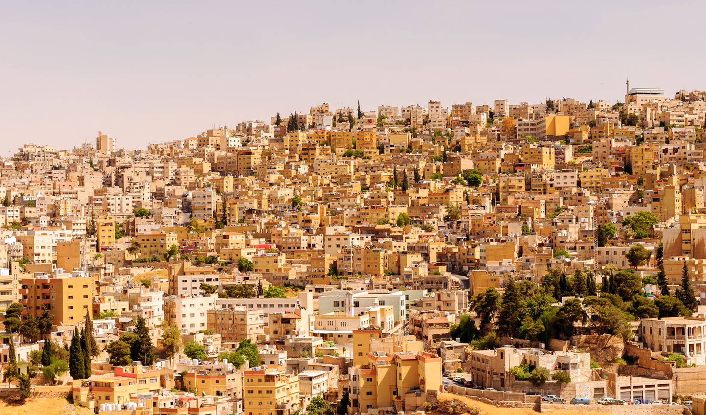 Finish up your trip on the city streets of Amman