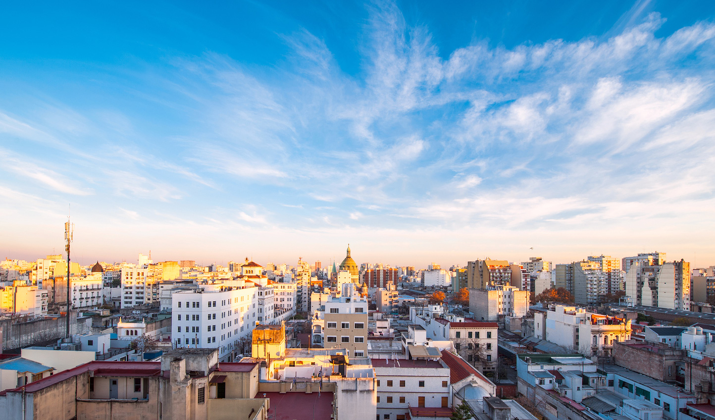 Spend some time taking in the city sights of Buenos Aires