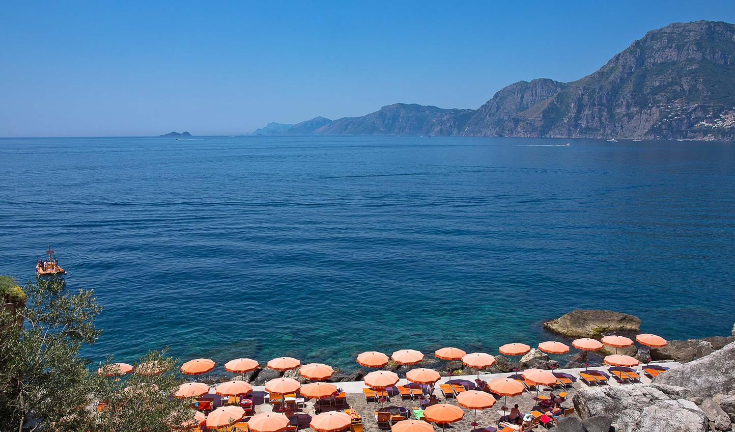 Head on down to La Gavitella Beach