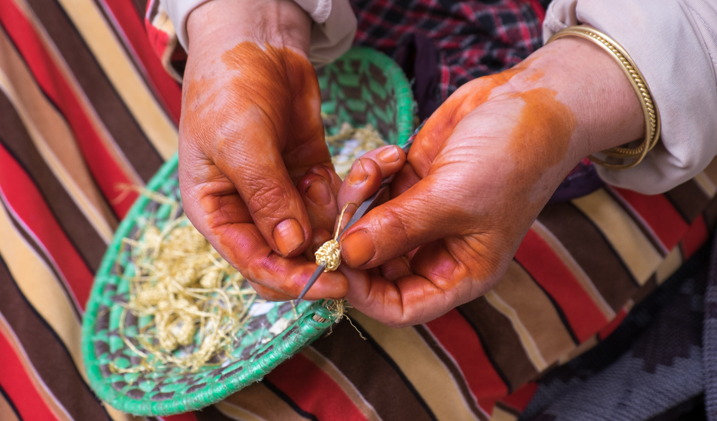 Learn local crafts out in Bhalil