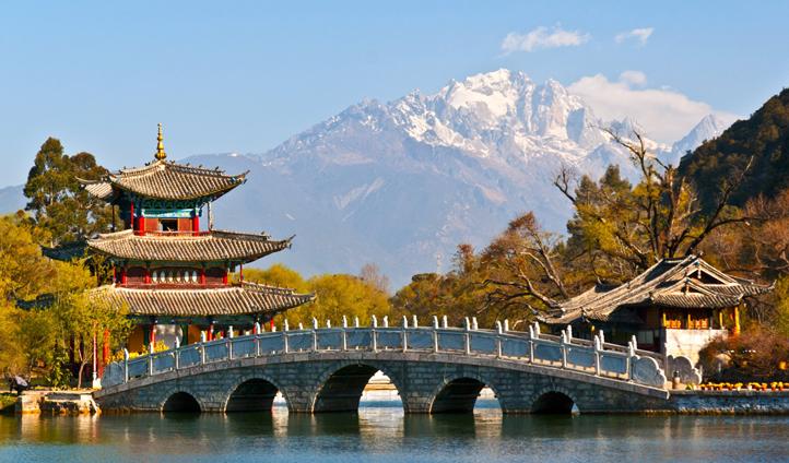 Black Dragon Pond, Lijiang, China
