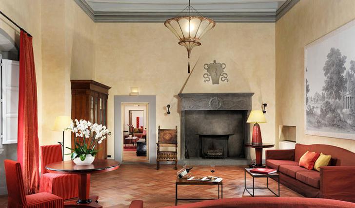 Castello del Nero's Lounge, Tuscany