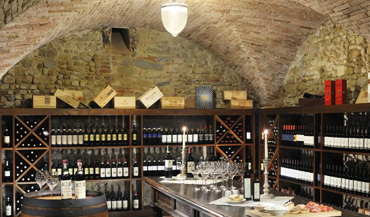 Castello del Nero Wine Cellar, Tuscany