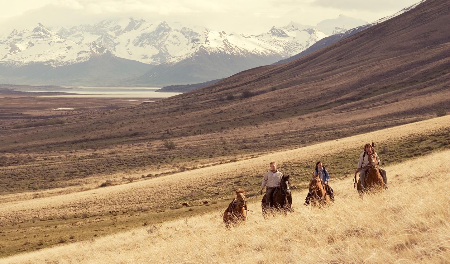 Take in mesmerising views on horseback