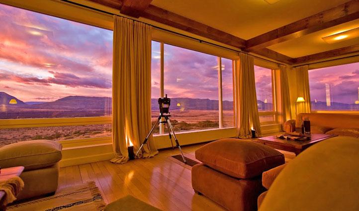Eolo Lodge views