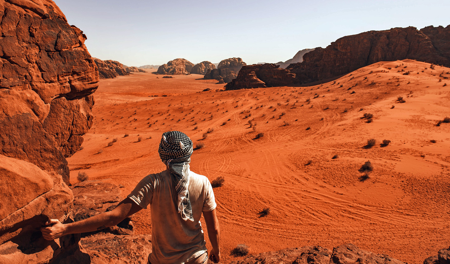Set out on an adventure across Jordan