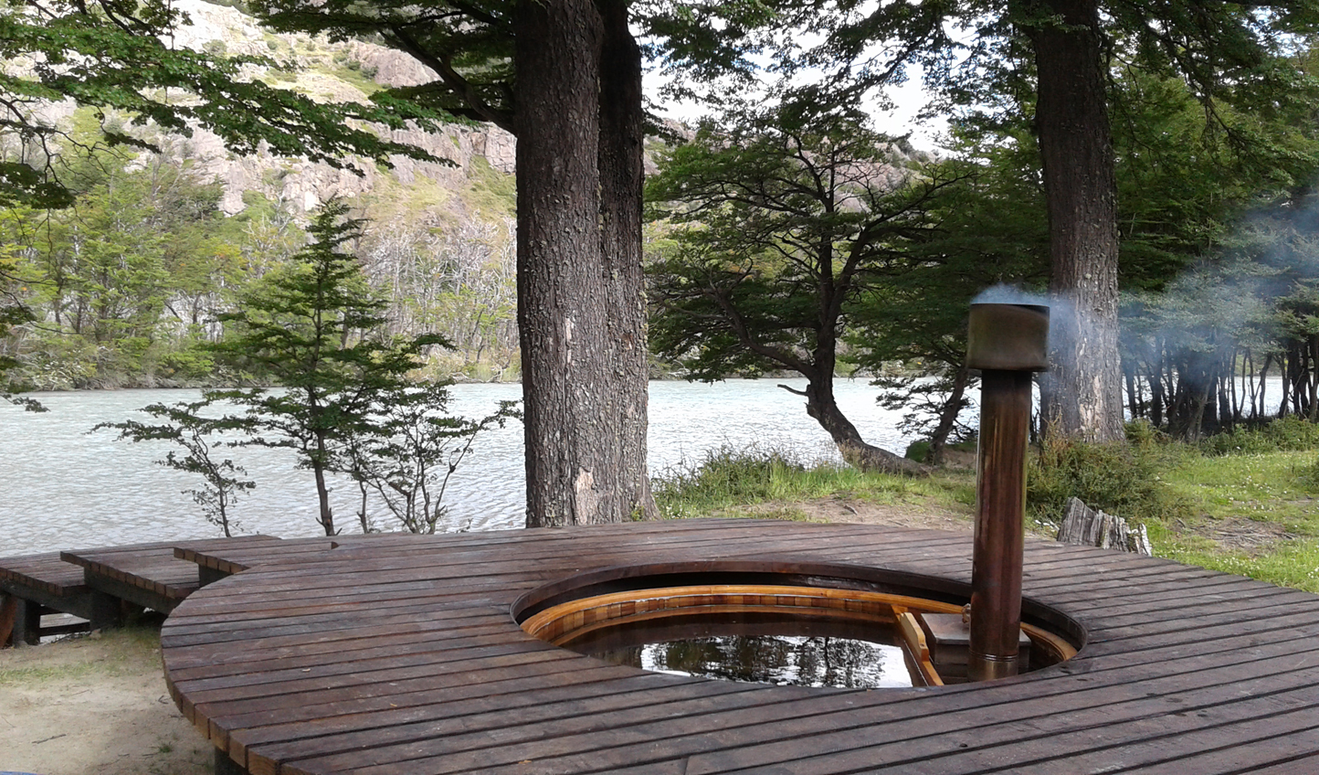 Soak up the views from the hot tub